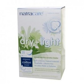 Absorbante light pentru incotinenta urinara Natracare