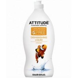 Detergent lichid de vase coaja de citrice Attitude