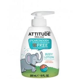 Lotiune de corp Eco-Baby cu lapte de migdale Attitude