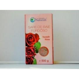 Sare de baie cu trandafir