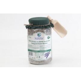 Sare de baie cu plante medicinale si lavanda