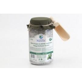Sare de baie cu plante medicinale -menta