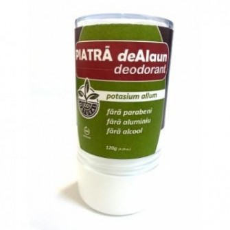 Piatra de Alaun - deodorant