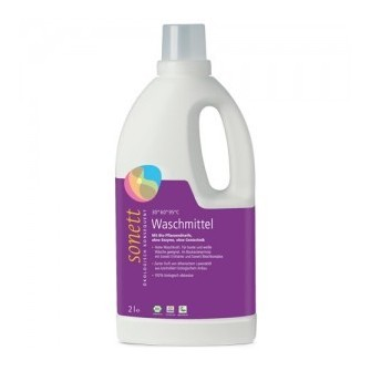 Detergent lichid ecologic de rufe colorate cu lavanda Sonett