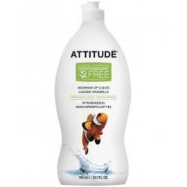 Lichid de spalat vase mar verde si busuioc Attitude