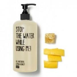 Sapun lichid lemon honey, Stop the water