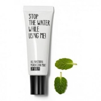 Balsam de buze maroccan mint, Stop the water