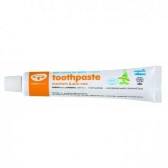 Pasta de dinti pentru copii cu mandarine Green People