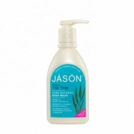 Sapun lichid bio de fata si maini cu tea tree Jason