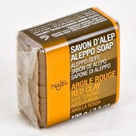 Sapun de alep cu argila rosie Najel