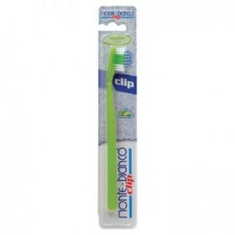 Periuta de dinti cu cap schimbabil, sensitive, nylon, verde Monte Bianco