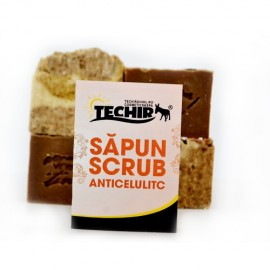 Sapun scrub anticelulitic TECHIR