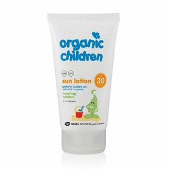 Lotiune copii protectie solara fara miros SPF30 Green People