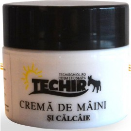 Crema de maini si calcaie Techir