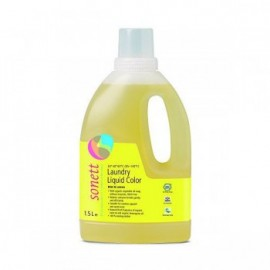 Detergent ecologic lichid pentru rufe colorate Menta si Lamaie Sonett