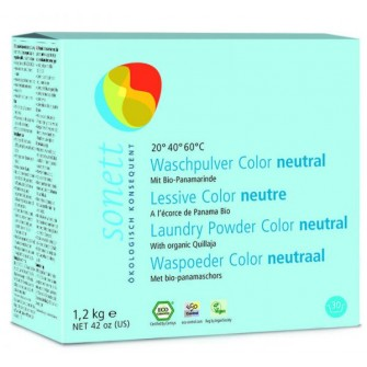 Detergent ecologic praf pentru rufe neutru sonett