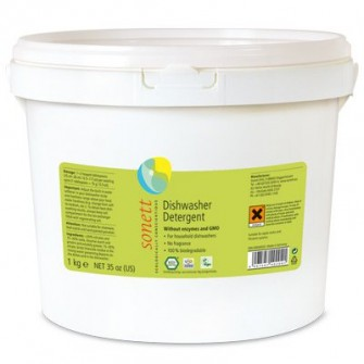 Detergent ecologic praf pentru masina de spalat vase Sonett