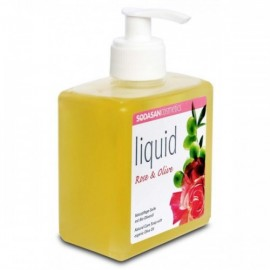 Sapun lichid /gel de dus bio trandafir -masline Sodasan