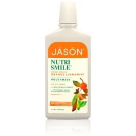 Apa de gura Nutri Smile pentru prevenirea tartrului si cariilor Jason
