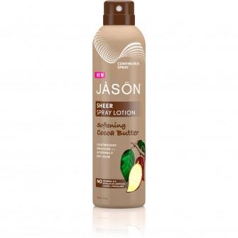 Spray hidratant cu unt de cacao pentru corp Jason