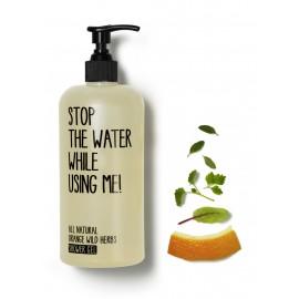 Gel de dus orange wild herbs, Stop the water