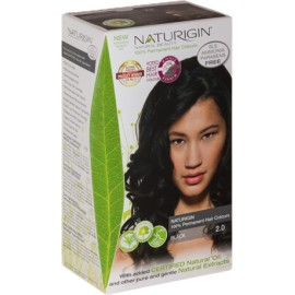 Vopsea naturala permanenta Naturigin - 2.0 Negru