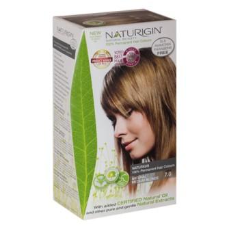 Vopsea permanenta Naturigin  7.0 Blond mediu natural