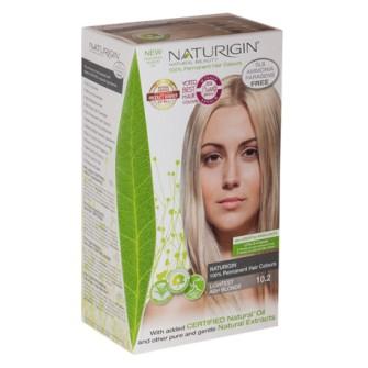 Vopsea permanenta  Naturigin 10.2 Blond cenusiu foarte deschis