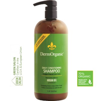 Sampon conditionator zilnic 70% Organic 350 ml DermOrganic