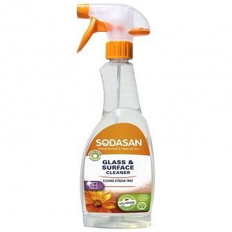 Detergent de geamuri si suprafete Sodasan