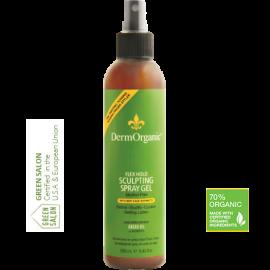 Spray modelant flexibil profesional 70% Organic 250 ml DermOrganic