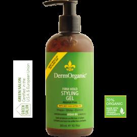Gel styling profesional cu sustinere ferma 70% Organic 300 ml DermOrganic