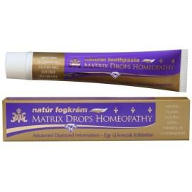 Pasta de dinti fara fluor inclusiv pentru uz homeopat Matrix Drops
