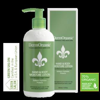 Crema Hidratanta Profesionala pentru Maini si Corp Organica DermOrganic