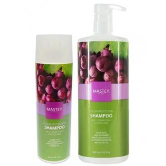 Sampon profesional fara sulfati pentru protectia culorii cu ulei de argan si ulei de masline Mastey