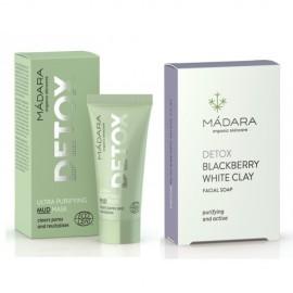 Set DETOX - masca purificatoare & sapun facial Madara