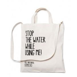 Sacoșă de pânză Stop the water
