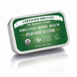 Balsam de corp organic Patchouli si Lime Dr. Bronner's Magic
