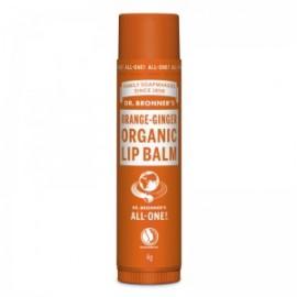 Balsam de buze organic Portocala si Ghimbir Dr. Bronner's Magic