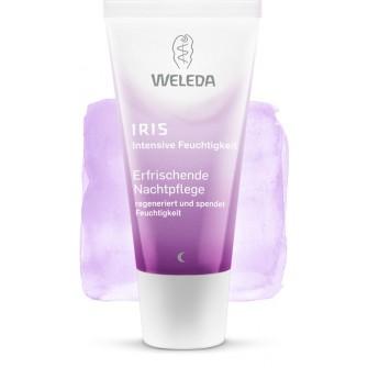 Crema de noapte cu iris Weleda
