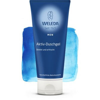 Gel de dus revigorant men  Weleda