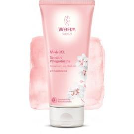 Lotiune de dus pentru piele sensibila cu migdale Weleda