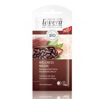 Masca WELLNESS unt de cacao, lapte de migdale toate tipurile de ten Lavera