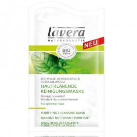 Masca detergenta purifianta - argila minerala - ten mixt Lavera