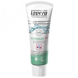 Pasta de dinti BIO pentru albirea dintilor si respiratie proaspata Lavera