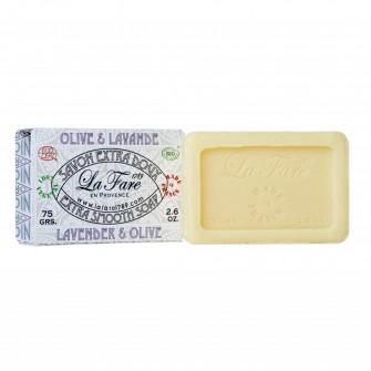Sapun extrafin cu lavanda La Fare 1789, 75 gr