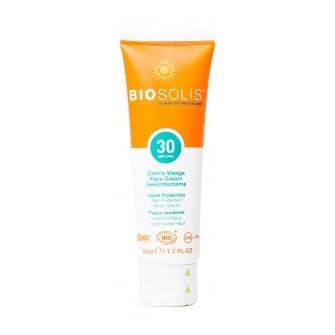 Crema cu protectie solara pentru fata SPF 30