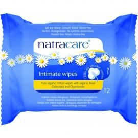 Servetele umede pentru igiena intima din bumbac organic Natracare