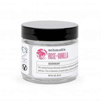 Deodorant borcan trandafir si vanilie Schmidt's