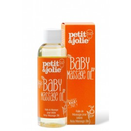 Ulei de masaj pentru bebelusi si copii cu pielea sensibila, Petit&Jolie